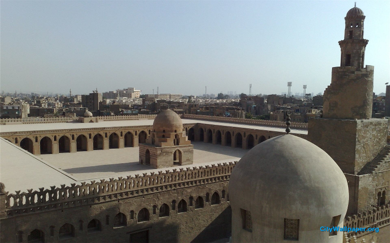mosque-of-ibn-tulun-cairo-city-full-view-wallpaper-1920x1200