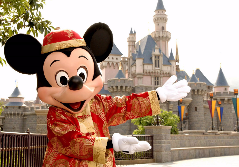 MICKEY MOUSE WELCOMES ALL TO HONG KONG DISNEYLAND RESORT