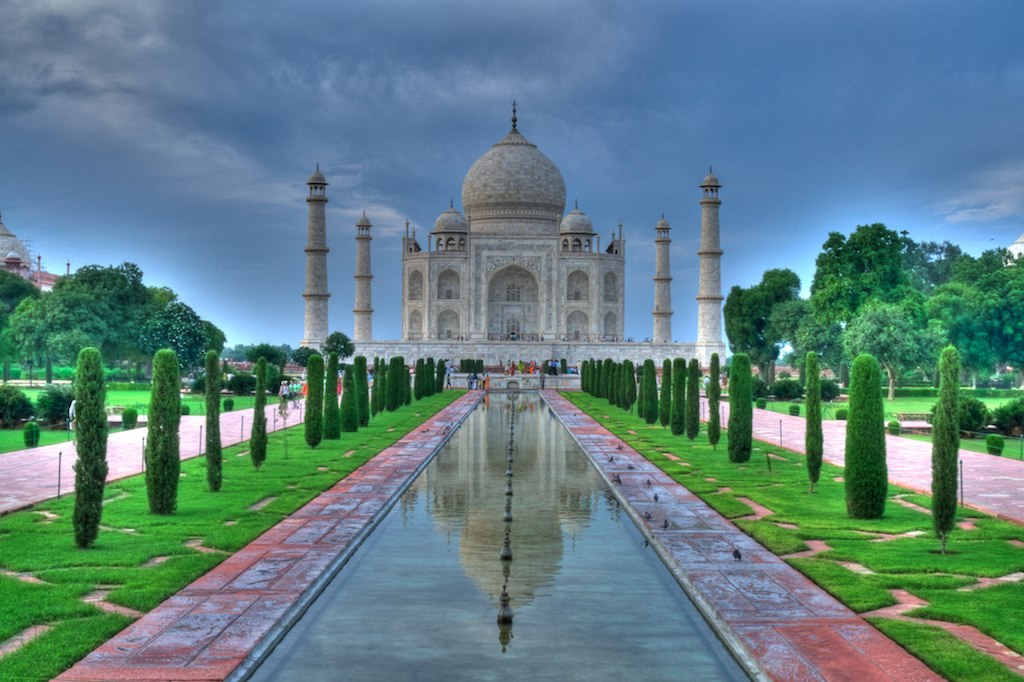 Taj Mahal, Agra, Rajasthan