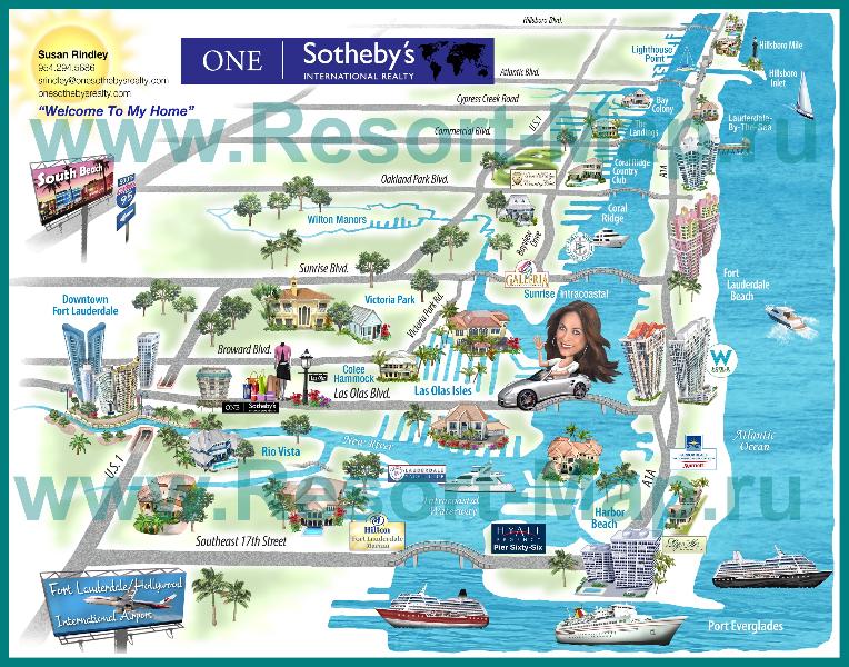 turisticheskaya-karta-miami-s-otelyami